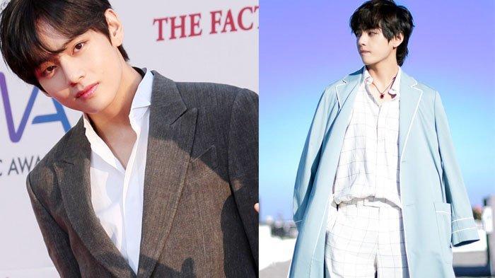 V BTS Ulang Tahun, Intip Gaya Fashion Kim Tae Hyung yang Terinspirasi Film-film Jadul
