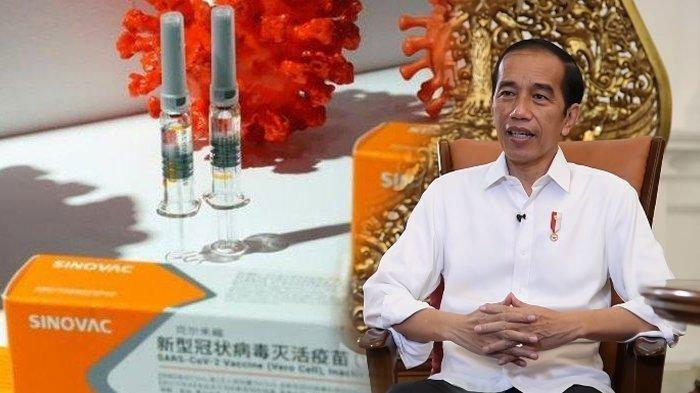 Presiden Jokowi Siap Jadi yang Pertama, Ini Daftar Urutan Prioritas Penerima Vaksin Covid-19