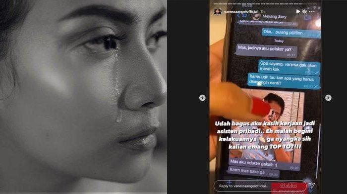 PILUNYA Vanessa Angel Baca Chat Mesra Bibi Ardiansyah ke Pelakor, Panggil Sayang Hingga Minta Pijet
