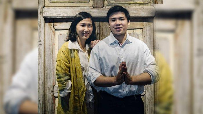 Veronica Tan bersama putra sulungnya, Nicholas Sean.