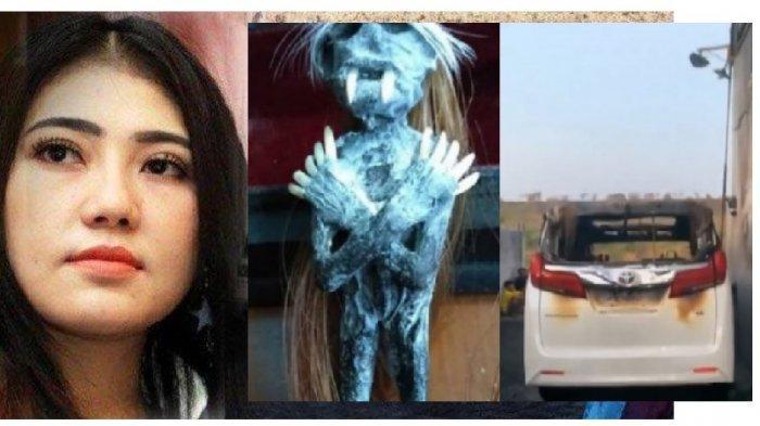 ISI TAS Pelaku Pembakar Mobil Via Vallen Digeledah Polisi, Isinya Benda-benda Mistis Bau Dukun!