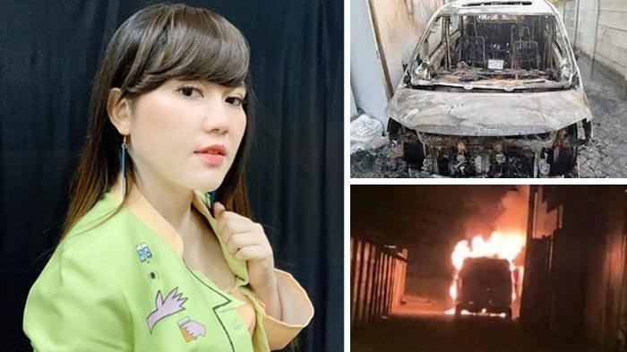 Via Vallen Cerita Jerih Payah Beli Mobil Alphard, Belum Sempat Diasuransi Sudah Hangus Dibakar