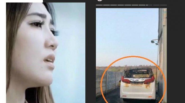BREAKING NEWS Orang Ini Tertangkap CCTV Bakar Mobil Alphard Milik Via Vallen: Siapapun Kau Pelakunya