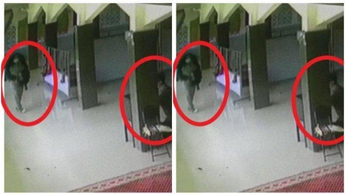 Terekam CCTV, Dua Sejoli Ini Tak Hanya Berbuat Mesum di Masjid, Tapi Juga Nekat Curi Kotak Amal