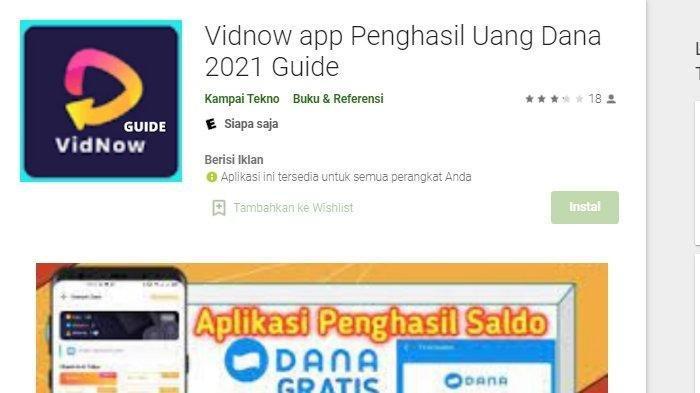 Cara Mudah Dapat Uang dari Aplikasi VidNow, Nonton Video YouTube, Lakukan Misi Ini Dapat Poin Banyak