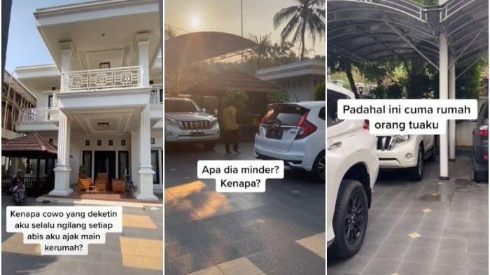 RUMAHNYA bak Istana, Mobil Berjejer, Wanita Ini Curhat Ditinggal Gebetan: Minder? Itu Rumah Ortuku