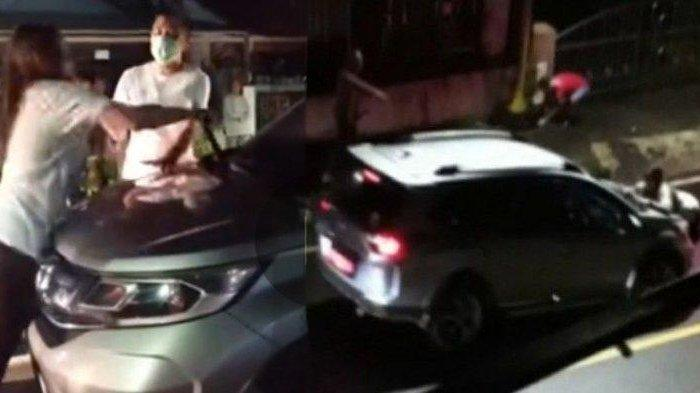 Viral dokter cantik labrak suaminya yang pejabat berduaan dengan wanita lain di mobil hingga terseret di aspal