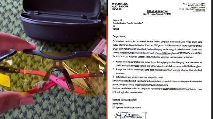 VIRAL Dapat Surat Protes Eiger, YouTuber Dian Kini Diberi Sederet Alat Mewah dari Arief Muhammad!