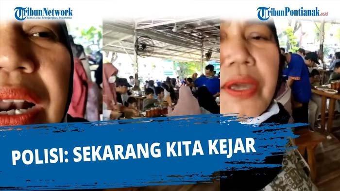 Viral Wanita Kritik Prokes dan Rekam Suasana Restoran di Padang, Polisi Bertindak, Pelaku Minta Maaf