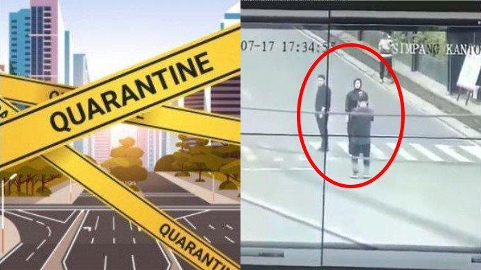 Sepi Imbas PPKM, Viral Pasangan Foto Prewedding di Tengah Jalan Palembang, Cuek Terekam CCTV
