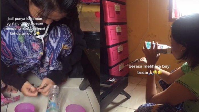 Gadis 19 Tahun Masih Suka Minum Susu Pakai Dot, Punya Tempat Rahasia Agar Tak Ketahuan Mama