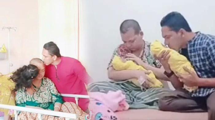 Fakta Kisah Kasih Pon & Fitri, 4 Tahun Berjuang Lawan Tumor Otak, Baru Lahirkan Bayi Kembar
