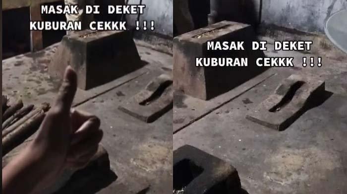 'Masak Dekat Kuburan Check', Viral Kisah Dapur Rumah Berisi Kuburan, Ternyata Ini Fakta di Baliknya