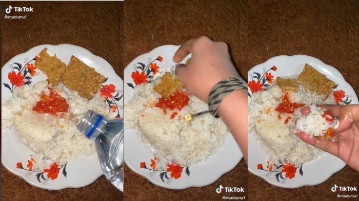 VIRAL Makan Nasi Campur Air Putih, Gadis Ini Dihujat Netizen, Tak Disangka Alasannya: Mereka Ga Tahu