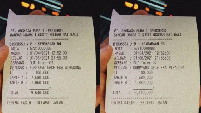 'Seharga Iphone 12 Mini' Viral Parkir di Bandara Ngurah Rai Bayar Rp 9,6 Juta, Ternyata Ini Faktanya