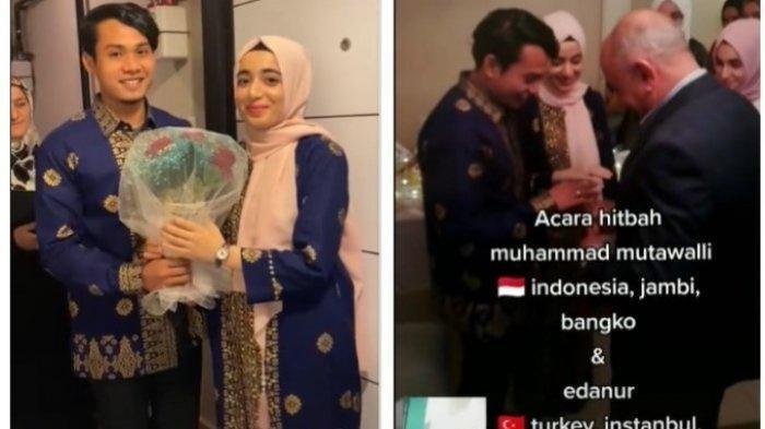 SENDIRIAN Pria Jambi Terbang ke Turki Lamar Wanita Pujaan, Usaha Berhasil Kini Dapat Putri Istanbul