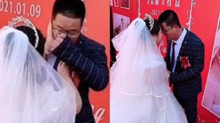 VIRAL Pengantin Pria Menangis Kecewa Tak Satupun Tamu Datang ke Pernikahannya, Resepsi Impian Hancur