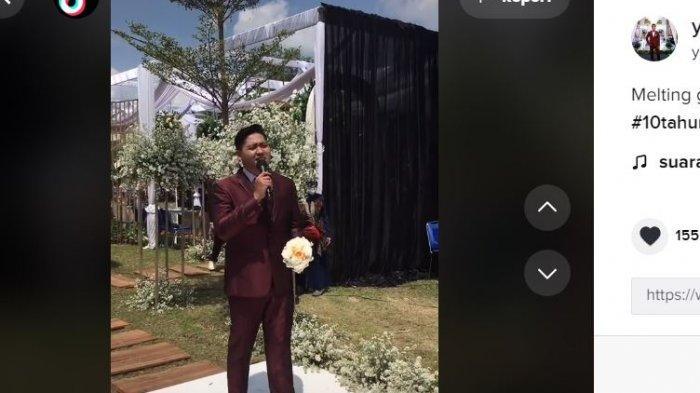 Viral pengantin pria tiba-tiba menghilang dari pelaminan