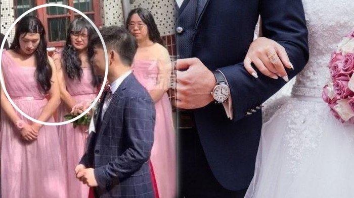 Nunduk & Gelisah, Bridesmaid Cantik Ini Sembunyikan Sesuatu, Tamu Syok Tahu Identitas Asli: Astaga!