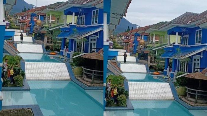 MEWAH Bak Hotel, Perumahan Ini Punya Kolam Renang Bertingkat di Halaman Belakang, Videonya Viral