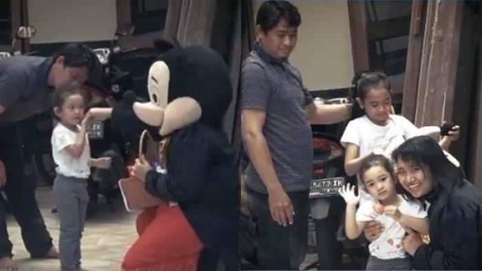 1,5 Tahun Terpisah dari Anak karena Tugas, Pecah Tangis Anak Saat Polwan Gagal Menyamar Jadi Badut