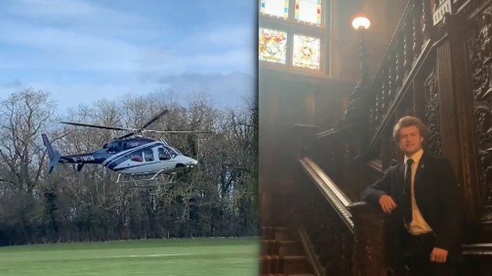 ANAK SULTAN! Pria Ini Viral Dihadiahi Helikopter saat Ultah Usia 18 Tahun, Bongkar Fakta di Baliknya