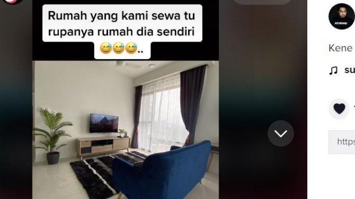 Viral pria ngontrak rumah, milik istrinya sendiri.