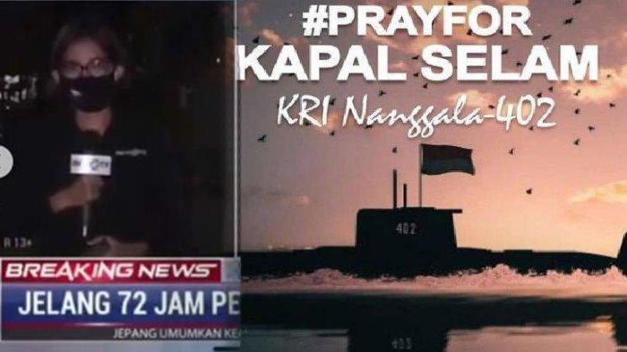 'Masih Kirim WA Meski Tak Dibalas' Tangis Reporter TV Laporkan Pilunya Istri Komandan KRI Nanggala