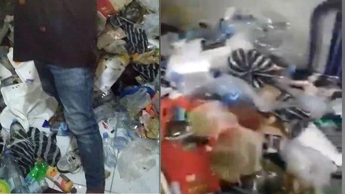 DIDUGA Idap Hoading Disorder, Ojol Ini Timbun Sampah, Simpan Air Kencing di Botol, Warga: Astaga
