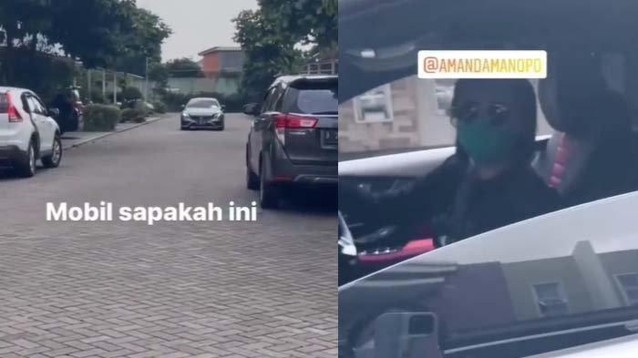 Viral video Amanda Manopo bertemu temannya di jalan
