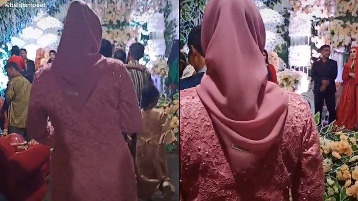SEBULAN Cerai, Wanita Ngelus Dada Lihat Suami Bahagia Bersama Istri Baru di Pelaminan 'Sabar Hyung'