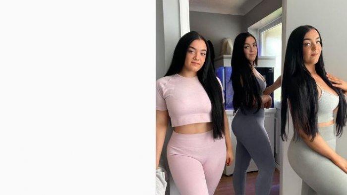 Viral wanita kembar tiga.