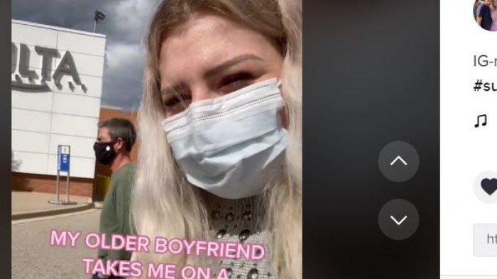 Viral wanita memiliki kekasih 33 tahun lebih tua darinya.