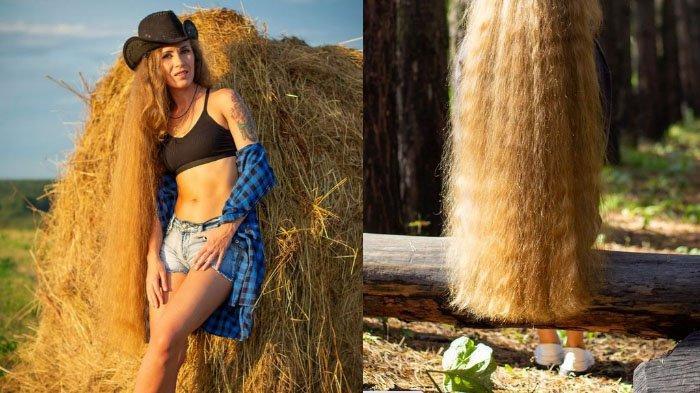 Rambutnya Terlalu Panjang, Wanita Ini Dijuluki Rapunzel, Tak Mau Dipotong: 'Serangga Suka Terjebak'