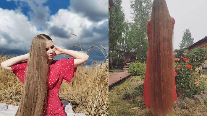 23 Tahun Tak Dipotong, Rambut Wanita Ini Disorot, Akui Kesulitan Berjalan Tapi Dipertahankan: Cantik