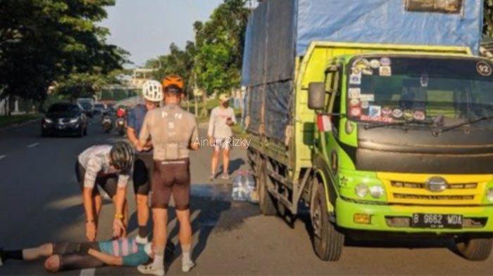 Virnie Ismail alami kecelakaan saat bersepeda