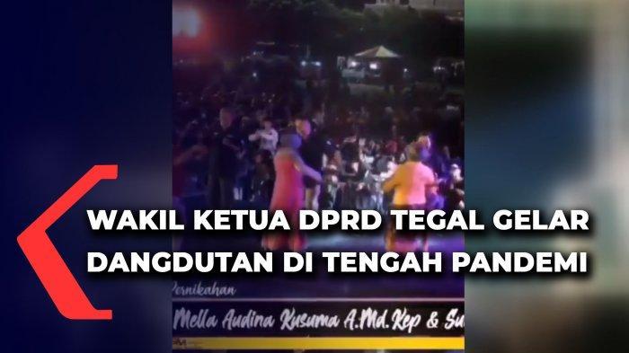 Wakil Ketua DPRD Tegal gelar konser di tengah pandemi