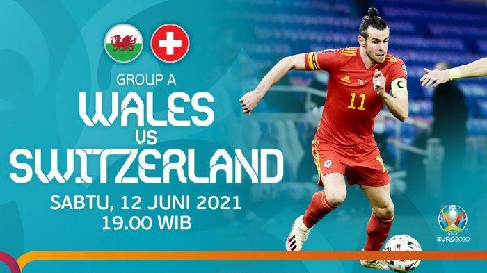 LINK LIVE STREAMING Wales vs Swiss di MNC TV & TV Online Mola Euro 2021 Jam 20.00 WIB, Sesaat Lagi!