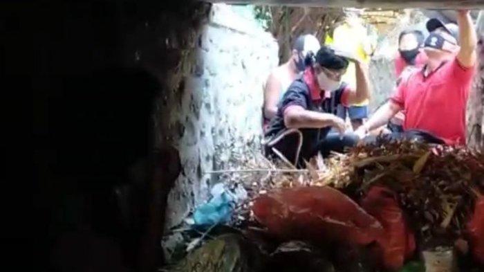 Hilang 8 Bulan, Wanita Ini Ditemukan Tinggal di Gorong-gorong yang Penuh Sampah, Kondisi Memilukan