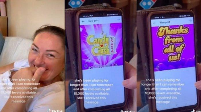 Bertahun-tahun Main, Wanita Ini Selesaikan Level 10.000 Game Candy Crush, Kaget Terima Pesan Khusus