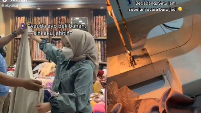 MODAL NEKAT, Wanita Jahitkan Baju Wisuda Kilat untuk Temannya, Hasil Bikin Melongo, Banjir Orderan