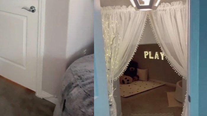 VIRAL Ibu Sulap Ruangan Tak Terpakai Jadi Tempat Rahasia untuk Anak, Isi Menakjubkan, Lihat Videonya