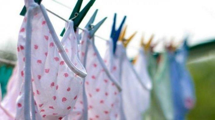 Ilustrasi - laundry pakaian dalam