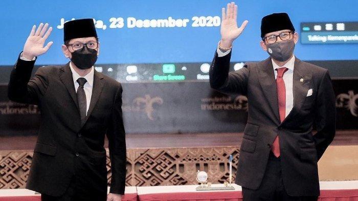 Rencana Wishnutama Usai Tak Lagi Jadi Menteri, Puji Sandiaga Uno, Menparekraf: Jangan Lama-lama