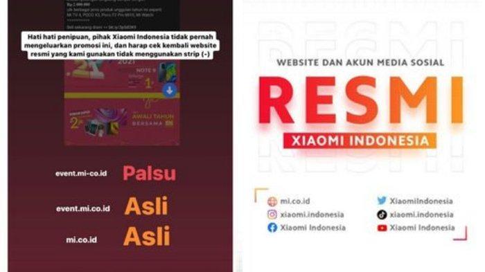 Awas Penipuan! Website Palsu Xiaomi Ini Jual Redmi Note 9 Rp 1 Jutaan, Xiaomi Indonesia Klarifikasi