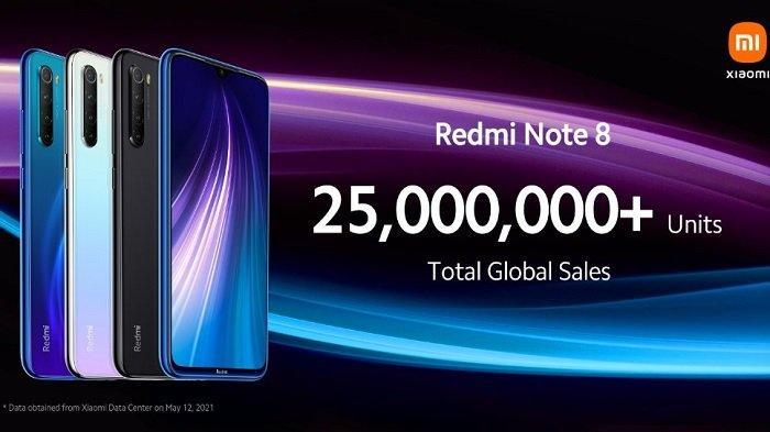 HARGA & Spesifikasi Redmi Note 8 2021, Terlaris di Tahun 2019 & Ini Keunggulan Versi Terbarunya