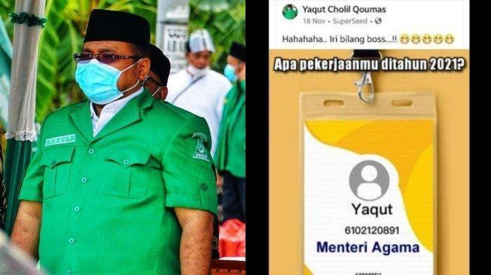 Yaqut Cholil Qoumas dan ramalan aplikasi SuperSeed di Facebook