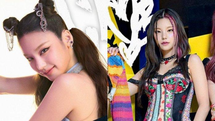 Yeji ITZY di foto teaser 'Crazy In Love'.