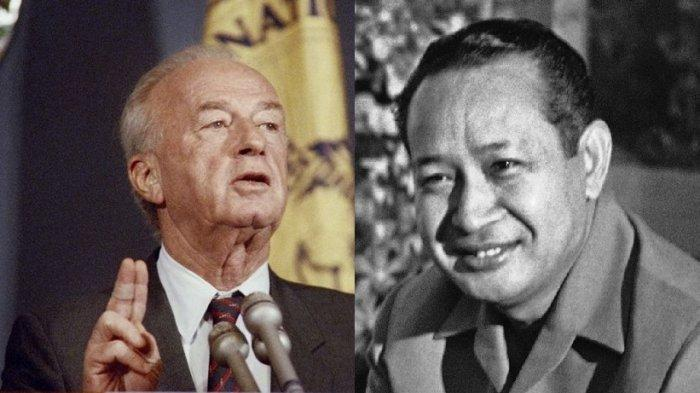 MOMEN Pengawal Presiden Soeharto vs Bodyguard PM Israel Yitzak Rabin Bentrok, Sempat Todong Senjata!