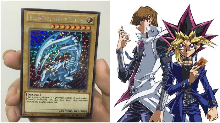 Kartu Anime Yu-Gi-Oh! Blue Eyes White Dragon Ini Terjual Rp 1 Triliun, Viral Gegara Berbau Kriminal